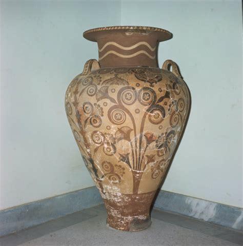 Crete Heraklion Museum Minoan Jar or Pithos