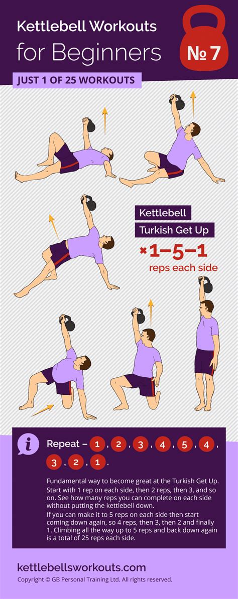 turkish kettlebell ladder workout workouts exercises beginners