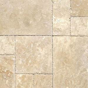 MS International Tuscany Beige Pattern Honed-Unfilled ...