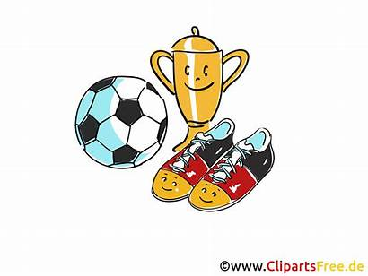 Pokal Cliparts Ball Fussballschuhe Clipart Fussball Boll