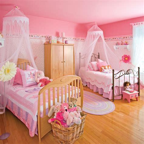chambre pour 2 déco chambre fillette 3 ans