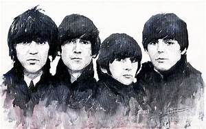 The Beatles Painting by Yuriy Shevchuk