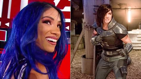 The Mandalorian Season 2: WWE's Sasha Banks