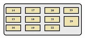 Toyota Paseo Second Generation Mk2  1995 - 1999  - Fuse Box Diagram