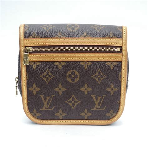auth louis vuitton monogram bum bag boss fall waist pouch