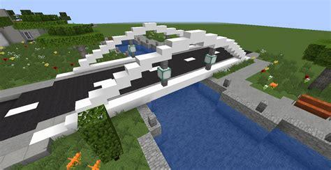 map minecraft ville moderne la ville moderne un pont une rivi 232 re 13