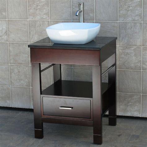 Granite Vanity Top For Vessel Sink by 24 Quot Bathroom Vanity Cabinet Black Granite Top