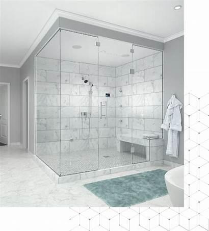 Steam Shower Bathroom Bath Showers Master Transparent