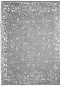 Teppich Grau Silber : vintage teppich orientteppich portofino silber grau ~ Markanthonyermac.com Haus und Dekorationen
