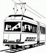 Tram Coloring Metro Pages Da Colorare Disegni Disegno Treno Immagini Di Results Printable sketch template
