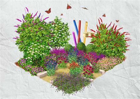 Insekten & Schmetterlingsgarten Obi