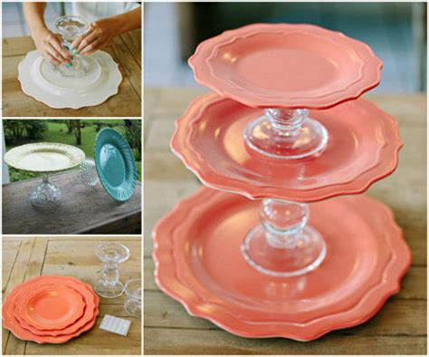 diy cake stand tutorial pictures   images