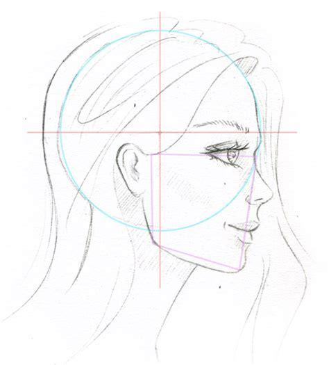 Gesicht Im Profil  Seitliches Gesicht