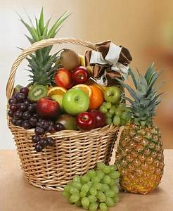 Beautiful, Baskets, With, Colorful, Fruits