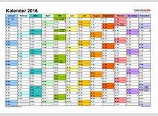 Kalender 2016 Zum Eintragen Und Ausdrucken kalendaryo HD