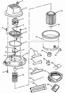 Ridgid Wd16250 Parts List And Diagram   Ereplacementparts Com