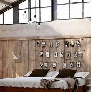 Deko Für Schlafzimmer : schlafzimmer deko 25 ideen f r das kopfbrett am bett ~ Sanjose-hotels-ca.com Haus und Dekorationen