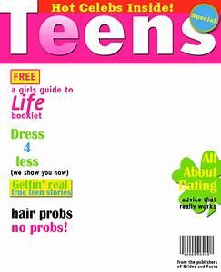 inmagazinescom fake magazine cover generator With seventeen magazine cover template