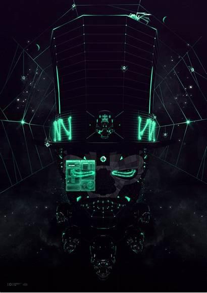 Motion Studio Death Digital Magic Neon Inspiration