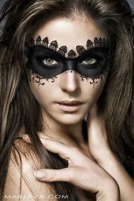 Lace Mask Makeup Halloween