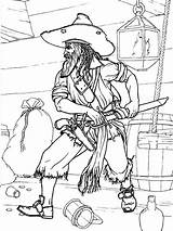 Coloring Pirates Pages Printable Boys Mycoloring sketch template