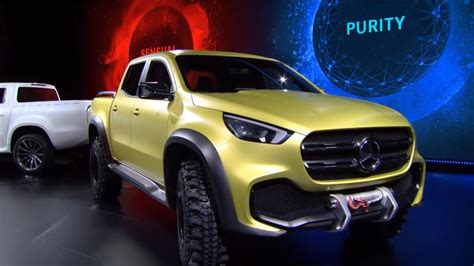 Mercedes Benz X Class Pickup Concepts Revealed Nissan