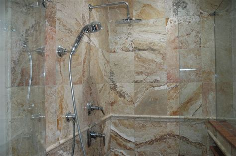 custom bathroom remodeling  travertinetile