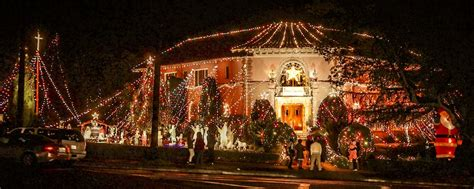 the annual tradition of christmas lights and decorations