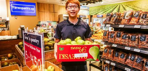 Grocery Store With Latest Retail Pos Technology, Farm 'n