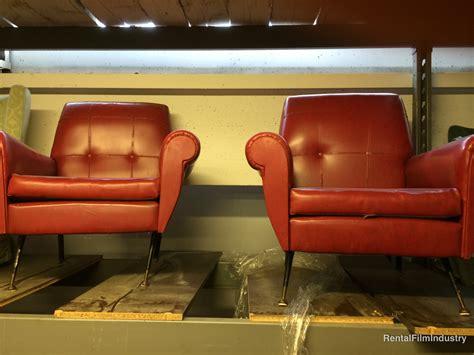 Poltrone Ufficio Rosse : Poltrone Rosse In Pelle Anni '60