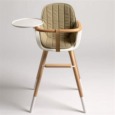chaise haute childwood cool and modern high chairs popsugar