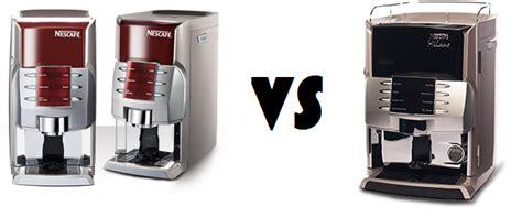 Nescafe Alegria vs Nescafe Milano Coffee Vending Machines