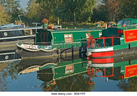 Houseboat Yorkshire by Pocklington Canal Stock Photos Pocklington Canal Stock