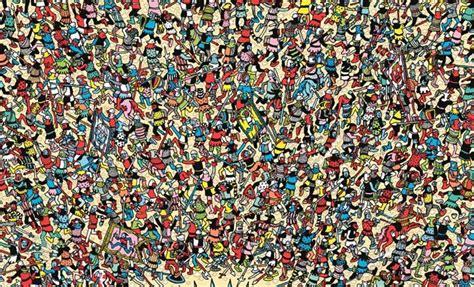 Where's Wally | Pintura acrílica sobre lienzo, Pintura ...