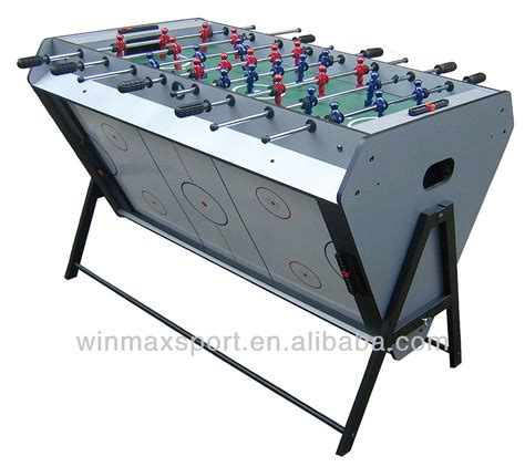 air hockey and football table winmax high quality soccer table mdf air hockey table