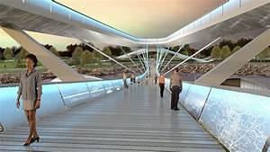 Tulsa, Pedestrian, Bridge, Competition