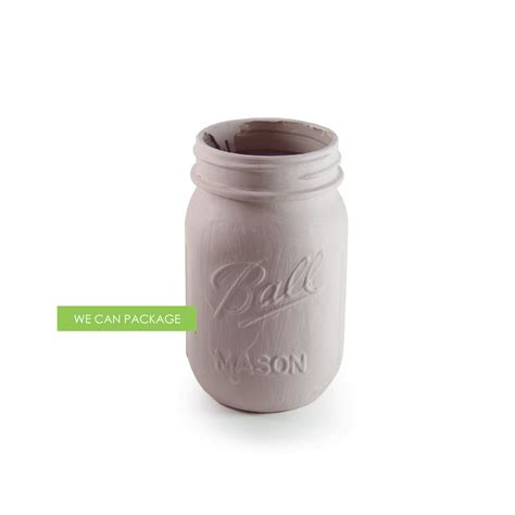 Deep Red Mason Jar We Can Package