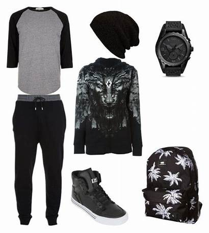 Outfits Polyvore Swag Tomboy Outfit Guy Casual
