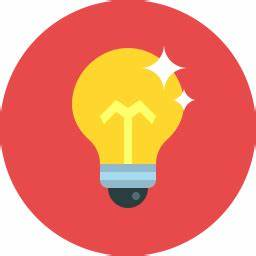 Bulb Icon Flat - Icon Shop - Download free icons for ...