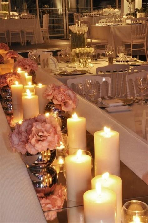wedding nail designs mirrored tiles as table runners