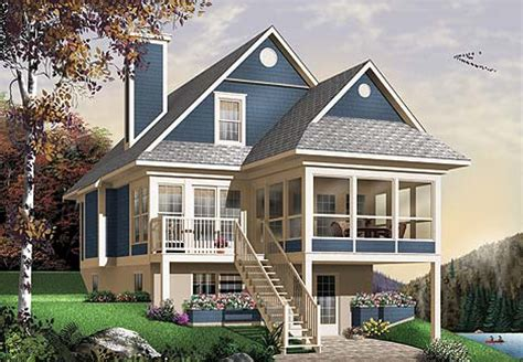 story cottage house plan