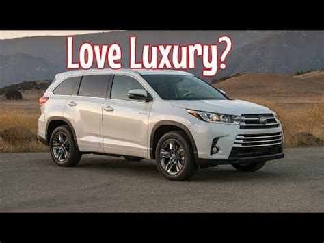 toyota highlander limited awd review