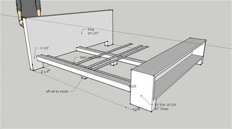 Size Pallet Bed Plans by Diy Pallet Bed Frame At No Cost 101 Pallets