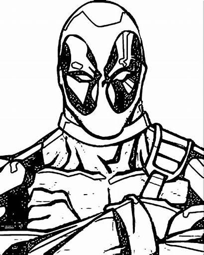 Coloring Deadpool