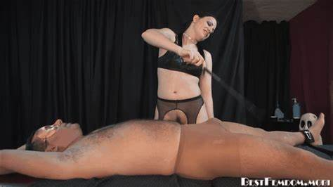 Female Agent Dominates Boy In Pov The Milking Dildoing