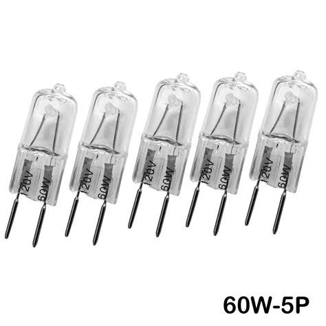 5pcs g8 120v 20w 25w 35w 50w 60w 75w 100w halogen lighting
