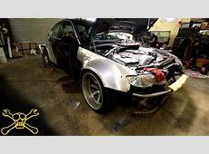 BMW e46 Aluminum Widebody Build Update YouTube