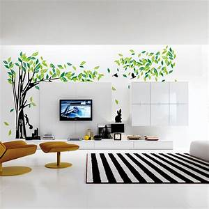 Aliexpress.com : Buy Large Green Tree Wall Stickers Vinyl ...