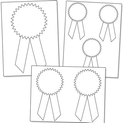 Award Ribbon Template Printable by Printable Award Ribbons Printable Treats
