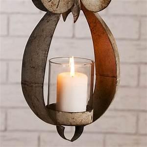 Windlicht Zum Aufhängen : design windlicht eule teelicht zum aufh ngen kerze lampe ~ Lizthompson.info Haus und Dekorationen
